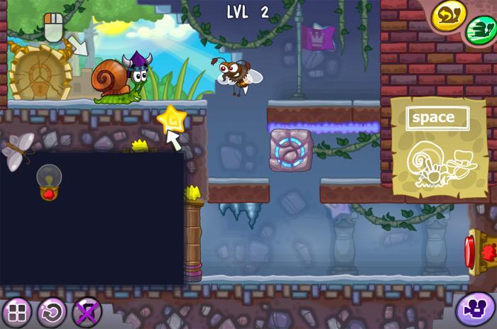 Level 2 Snail Bob 7